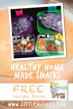 Cute healthy lunchbox inspiration from https://www.amazon.com/Little-Mashies/pages/12665873011  #babyfood #storage #kids #healthy #snacks  FREE ebook from littlemashies.com/free
