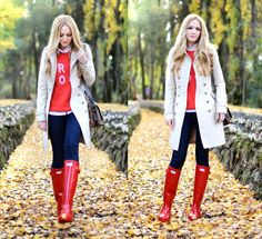 Looks con botas Hunter - Trendtation