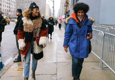 Elaine Welteroth and Chioma Nnadi