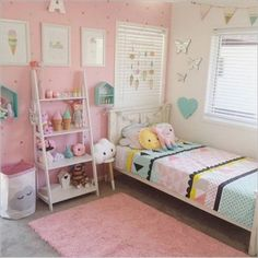 Cute Girl Bedroom Decoration Idea 154