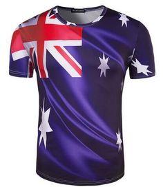 Uk Flag Men's Print T-Shirt