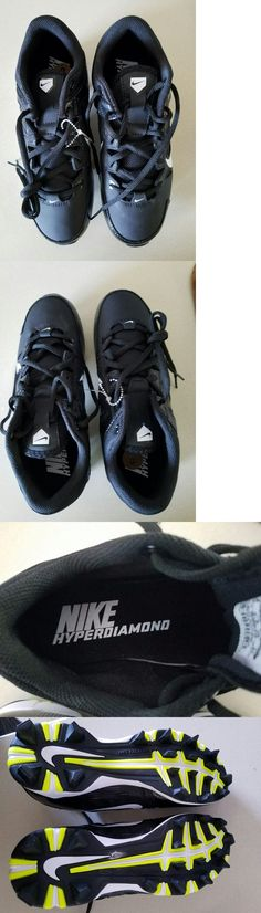 ea1ee4943b12 Womens 159060: Nike Black Hyperdiamond Keystone Low Molded Softball Cleats  Women S Size 8 New