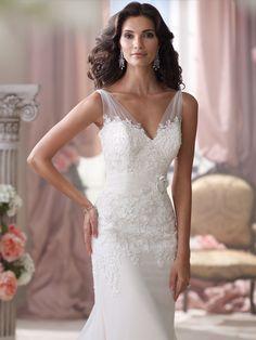 Style No. 114284 » David Tutera for Mon Cheri»wedding dresses 2013 and bridal gowns 2014