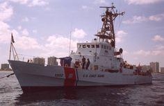 Coast Guard keeping watch.