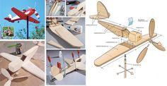 Ecco come costruire un segnavento #faidate a forma di areoplano!