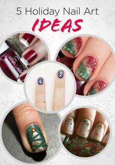 5 Holiday Nail Art Ideas