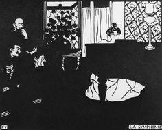 felix vallotton | Titre de l'image : Felix Vallotton - F.Vallotton, Die Symphonie