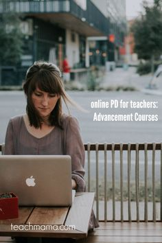 Online PD for teache