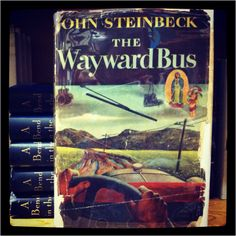 The Wayward Bus : Steinbeck ---> The Magnetic Fields #booksintoalbums