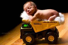 newborn in truck - Google Search