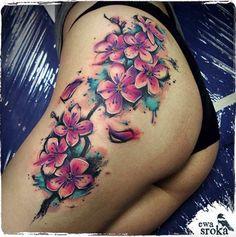 flor de cerezo-tatuaje