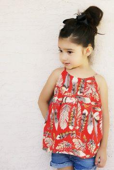 size 5 project: swingset tunic + skirt