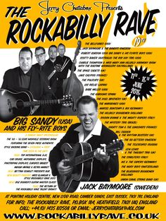 The Rockabilly Rave 11th-15th June 2015 Camber Sands, East Sussex, Tn31 7RL England