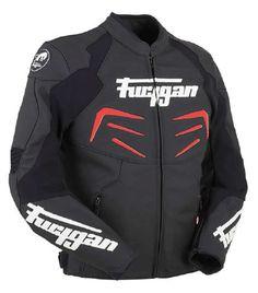 Furygan Power Jacket - Black/Red