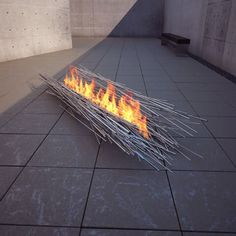 ' Elena Colombo is a New York-based sculptor and architectural designer who owns a design/build firm specializing in custom, site specific fire features. ' Just wow! (via Contemporist)