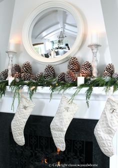 classic • casual • home: Greetings and Decking the Halls on a Budget