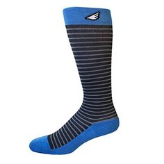 Mens 1520mmHg Graduated Compression Socks Premium Quality Comfortable Colorful Fun Patterned Made in USA Dark Grey Light Grey  Sky Blue ** Continue to the product at the image link.Note:It is affiliate link to Amazon.