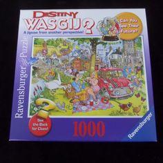 Ravenburger Destiny Wasgij? Picnic Time 1000 Puzzle #Ravensburgur