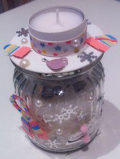 Kerzen - Wandelbares Winterkerzenglas - ein Designerstück von Vonwiller bei DaWanda