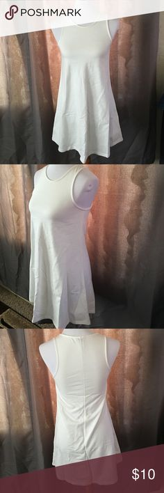 TOBI white cotton dress size Small. New with out tags TOBI white cotton dress size Small. Tobi Dresses