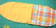 Cute Fish Handbag for Kids. DIY Tutorial in Pictures. Sewing Patterns Free, Free Pattern, Crochet Fish, Cute Fish, Fish In A Bag, Fashion Sewing, Bedroom Colors, Cute Dolls, Diy Tutorial