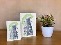 Syngonium hair - plant lover illustration / silver hair / crazy plant lady / house plant print / botanical print Plant Art, Plant Illustration, All Poster, Crazy Hair, Begonia, Silver Hair, Botanical Prints, Beautiful Artwork, House Plants