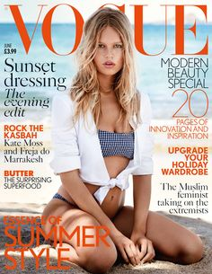 Anna Ewers on the cover of British Vogue - June 2015 - Patrick Demarchelier for British Vogue
