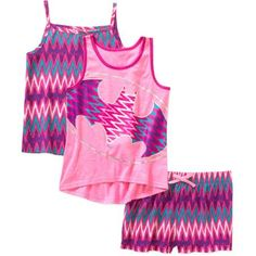 Batgirl Girls' Tank, Cami, and Shorts 3 Piece Set