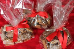 Homemade Dog Treats | Ingredients: 1 1/2 c whole wheat flour; 1 1/2 c bread flour (This is a denser type of flour than all-purpose flour.); ¼ c wheat germ; 1 tsp salt; 2 Tbsp brown sugar; 3 lrg eggs (If your eggs are extra large or jumbo-sized, you may ne