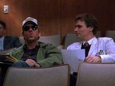 Still of Robert Sean Leonard and Hugh Laurie in House M.D. (2004)