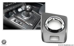 -  - AutoCarbon Carbon Fiber SMG Shifter Trim Replacements  - Photo #1