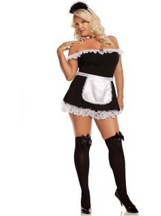 Maid Outfit, Maid Dress, French Maid Costume, Plus Size Costume, Sexy Halloween Costumes, Maid Halloween, Halloween Clothes, Halloween Magic, Adult Halloween