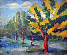 Trees - Martiros Saryan