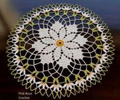 Daisy Crochet Doilie