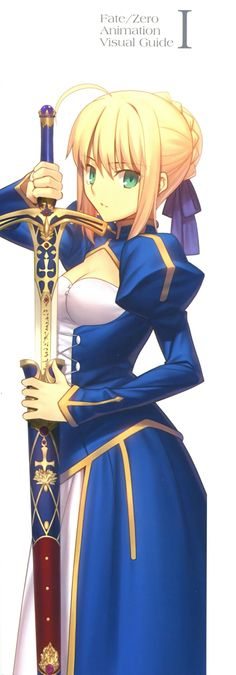 Saber / Arturia / Anime : Fate / Zero / Fate / Stay Night / Fate / Stay Night : Unlimited Blade Works
