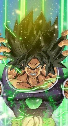 Broly / The Legendary Super Saiyan (Dragonball Series) Dragon Ball Gt, Dragon Ball Image, Broly Ssj4, Animes Wallpapers, Anime Art, Hype Wallpaper, Wallpaper Art, Broly Super Saiyan, Kh 3