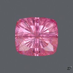 Pink Sapphire Starbrite™ Cut 1.95 cts