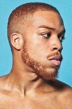 Vernon François. I was so blown away to see a black man with red hair. Oh, the beauty of genetics!