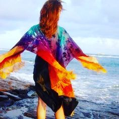 #silksarong #silkscarf #handpainted #maxidress #hawaii #caftan #beachwear #miamibeach #pareo #wearableart #flowdance #flowart #yoga #maui #boho #gypsy #resortwear #elven #festivalwear #burningman #hulahoop #tribalfusion #silkveil #velvetburnout #gypsyshawl