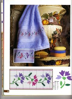 Here you can look and cross-stitch your own flowers. Cross Stitching, Cross Stitch Embroidery, Embroidery Patterns, Hand Embroidery, Crochet Patterns, Cross Stitch Boards, Mini Cross Stitch, Cross Stitch Flowers, Cross Stitch Designs
