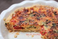 tomato basil quiche ericasrecipes watermark