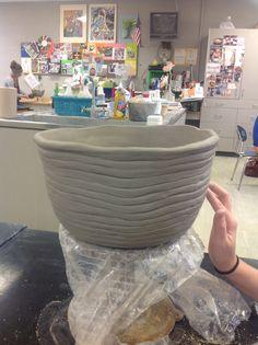 Large coil built bowl