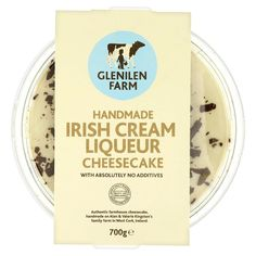 Glenilen Farm Irish Cream Liqueur Cheesecake
