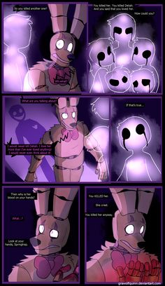 Springtrap and Deliah (Page 33) by GraWolfQuinn