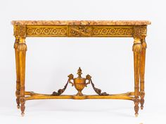 Stunning 19th century French gilt-wood console table. Team with a contemporary painting for a spectacular entry into your home. www.wallrocks.com.au