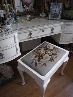 The dressing table in MAD-emoiselle's boudoir