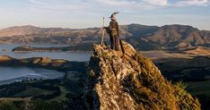 Photographer Travels Across New Zealand With Gandalf Costume, And His Photos Are Epic Gandalf, Photography Illustration, India Travel, Travel Photographer, Middle Earth, Travel Around, New Zealand, Places To See, Monument Valley
