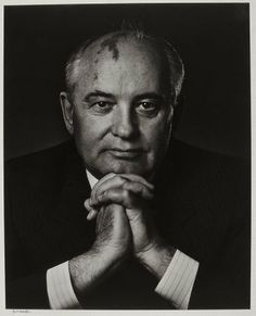 Mikhail Gorbachev 1990  Yousuf Karsh, Canadian (born in Turkish Armenia), 1908–2002