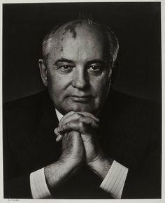 Mikhail Gorbachev 1990  Yousuf Karsh, Canadian (born in Turkish Armenia), 1908–2002