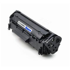 Saco 12A Black Toner Cartridge Compatible For HP LaserJet - 1010 1012 1022 1022n 3020 3030 3050 3052 3055 M1005 M1319f